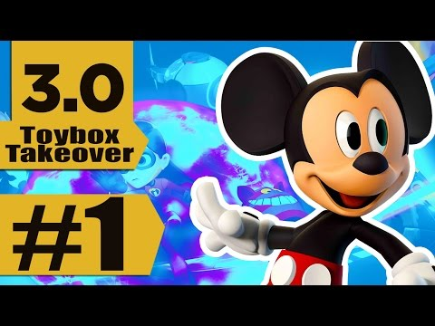 Disney Infinity 3.0: Toy Box Takeover Part 1, Mickey Mouse in the House!