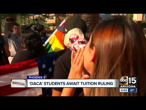 DACA students in Arizona await tuition ruling