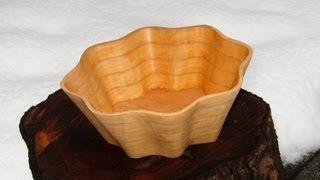Make A Scroll Saw Bowl - Woodworking