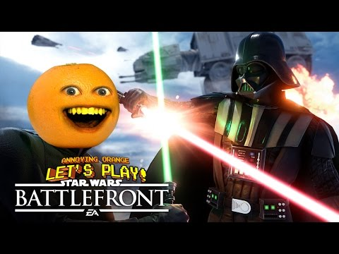 Annoying Orange Plays - STAR WARS BATTLEFRONT!