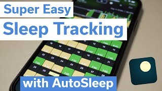 Super easy sleep tracking with iPhone and Apple Watch