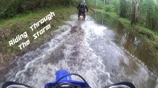 Riding Through The Storm | iRideADirtBike