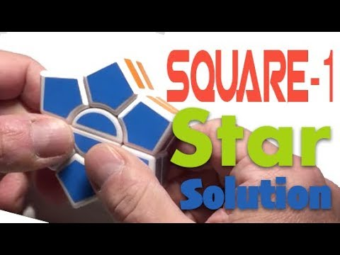 Square 1 Hexagon / Square one Star à 2 étages méthode