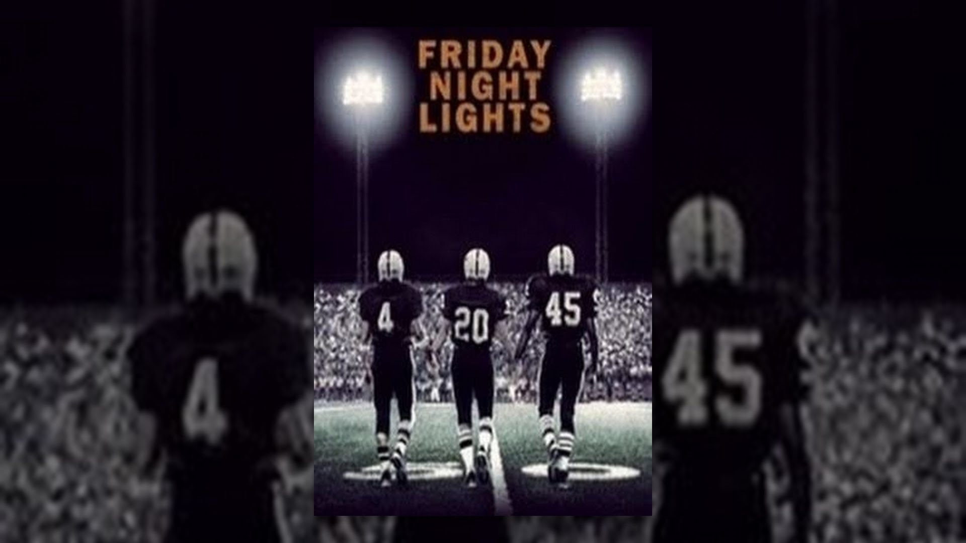 analysis of friday night lights Friday night lights is adapted from a book and film of the same name the book by hg bissinger chronicled the lives and times of a high school football team in west.