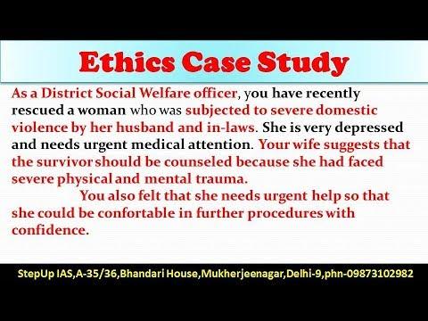 ethics case study essay