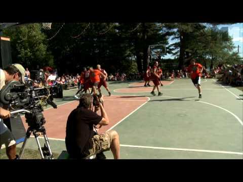 Grown Ups, Adam Sandler nails it! | on the basketball court US (2010) Kevin James, Chris Rock