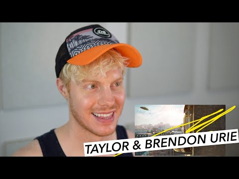 TAYLOR SWIFT ME BRENDON URIE PANIC AT THE DISCO REACTION