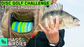 Disc Golf Fishing Challenge! Jomez vs Jerry (988 rated) play for mulligans | JomezPro