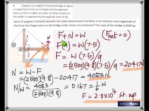 Static Equilibrium Solutions To Problems YouTube