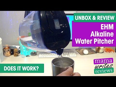Does It Work? Alkaline Water Pitcher Unboxing And Review