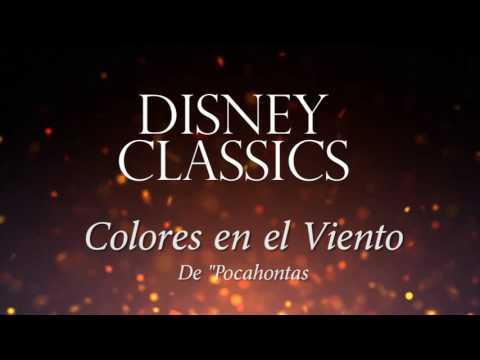 """Colores En El Viento (Version Instrumental Con Orquesta Filarmónica) De """"Pocahontas"""""""