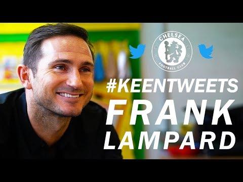 Frank Lampard Reacts To Fan Tweets 👍 | Keen Tweets