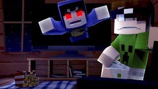 Minecraft: TEM UM MONSTRO NA MINHA CASA!