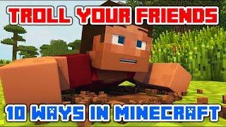 """Minecraft Videos """"Minecraft Trolling 10 Ways to your friends in Minecraft"""" Top Minecraft Animation"""
