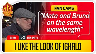 RICKY! MATA SUPERB! Derby County 0-3 Manchester United Fan Cam 3