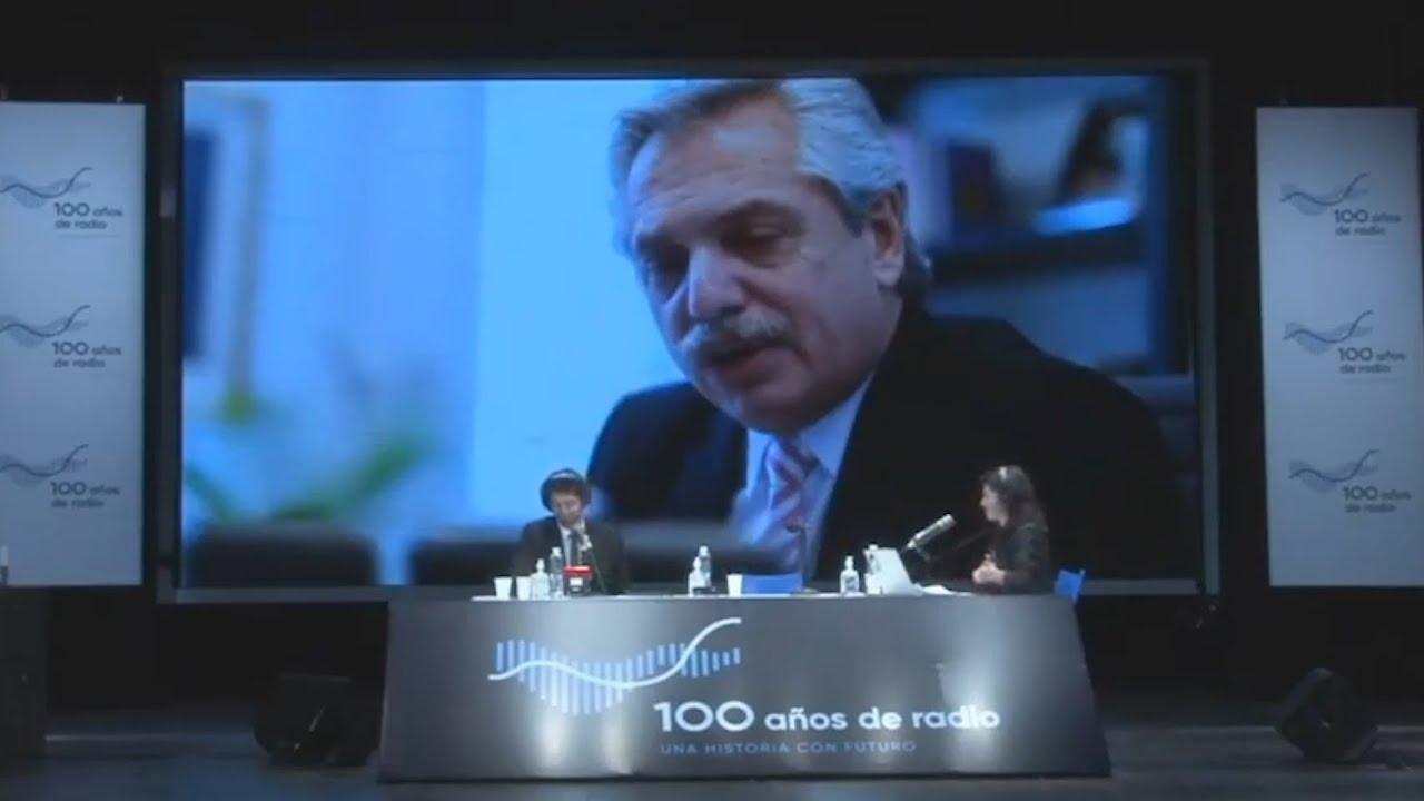 """Fernández: """"La radio siempre fue una compañía para mí"""""""