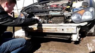 Как самому помыть радиатор на примере Impreza STI(Мойка радиатора перед летним жарким сезоном - неотъемлемая часть обслуживания вашего автомобиля. Понравил..., 2016-04-08T08:34:21.000Z)