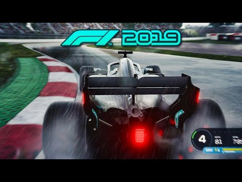 F1 2019 4K GAMEPLAY: Lewis Hamilton in the Wet