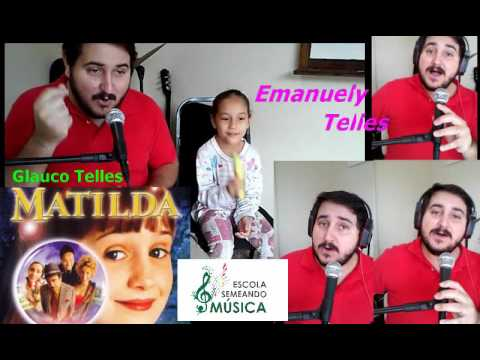 Little Bitty Pretty One- Cover Matilda- by-Glauco Telles & Emanuely Telles(Percusion)