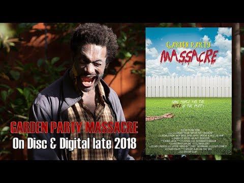 GARDEN PARTY MASSACRE Trailer (2018) Horror - Comedy