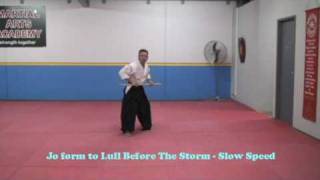 Zen Do Kai Jo Kata Lull Before The Storm Floor Pattern
