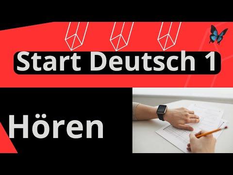 Start Deutsch 1 | Goethe Zertifikat A1 Hören