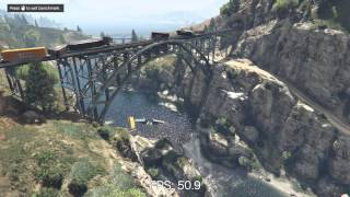 Grand Theft Auto V Benchmark Test | i5 4440, GTX 970 | 60 FPS