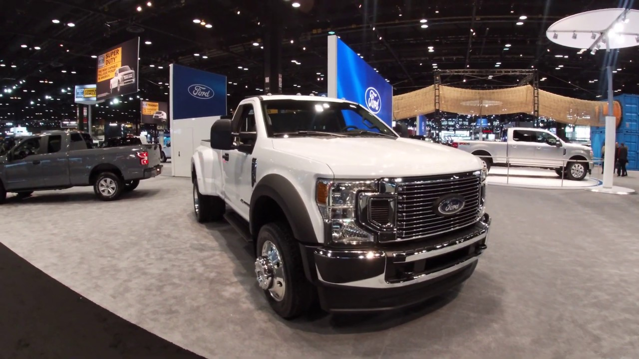 ford   super duty stx walkaround    chicago auto show youtube