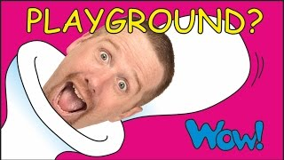 Repeat youtube video Playground for Kids | New House for Steve and Maggie Magic | Wow English TV