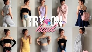 ♡ HUGE SPRING TRY-ON HAUL   FASHION NOVA AND MORE ♡