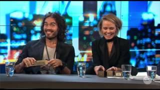 Russell Brand & Lara Bingle - Ejaculation - Figuratively