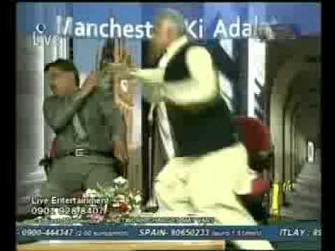 Pakistan People Party funny fight In Manchester Ki Adalat -23.06.2009 on DM Digital