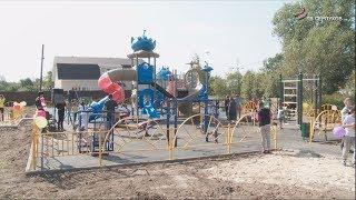 В  Шараповой Охоте открыли настоящий городок  детских развлечений
