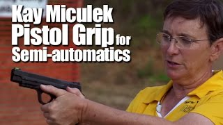 Video Beginner Target Shooting Tip #4: How to Properly Grip a Pistol - Kay Miculek - Babes with Bullets download MP3, 3GP, MP4, WEBM, AVI, FLV Juli 2018