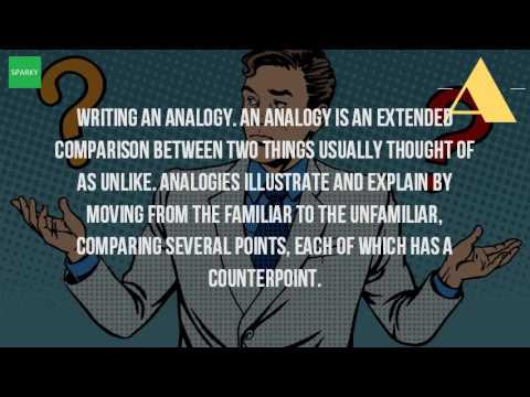 What Is An Analogy In Writing?