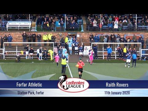 Forfar Raith Goals And Highlights