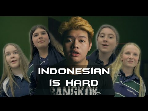 Is learning Indonesian harder than English?