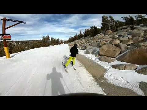 Skiing Heavenly Mountain~Skyline Trail (Blue Square)