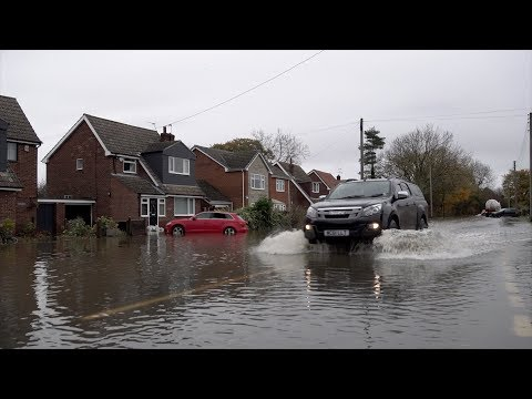 Concerns Improved Defences Upstream Flooded Fishlake Village