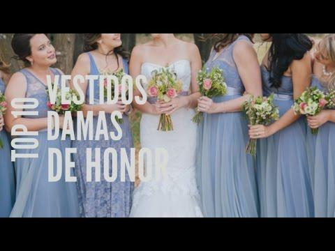 Top 10 Vestidos Damas De Honor Para Bodas 20172018