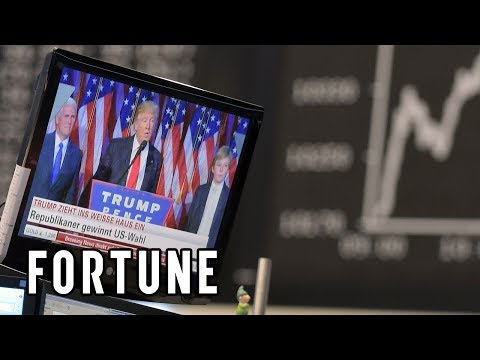 Donald Trump: Stock Market Has Added $4 Trillion Since Election Day I Fortune