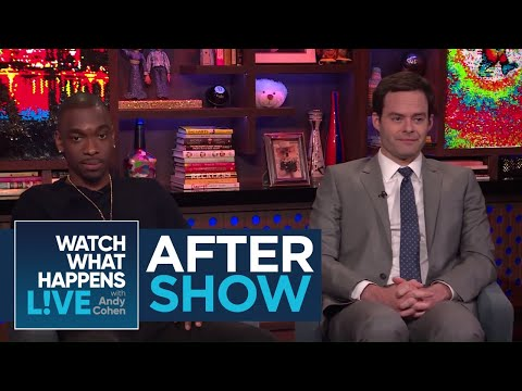 After : That Time Bill Hader Punk'd Ashlee Simpson  WWHL
