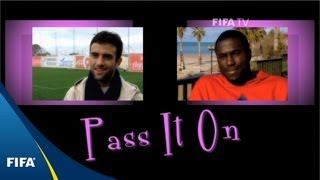 Pass it on: Rossi and Altidore