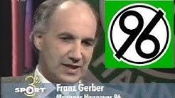 Hannover 96 - Franz Gerber vor Relegation gegen Energie Cottbus (1997)