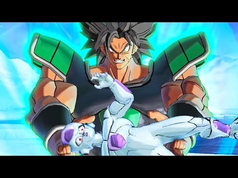 DBS Broly Movie Scenes Recreated in Dragon Ball Xenoverse 2 Using Mods | Pungence