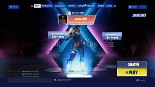 Fortnite 1v1 for rare skin