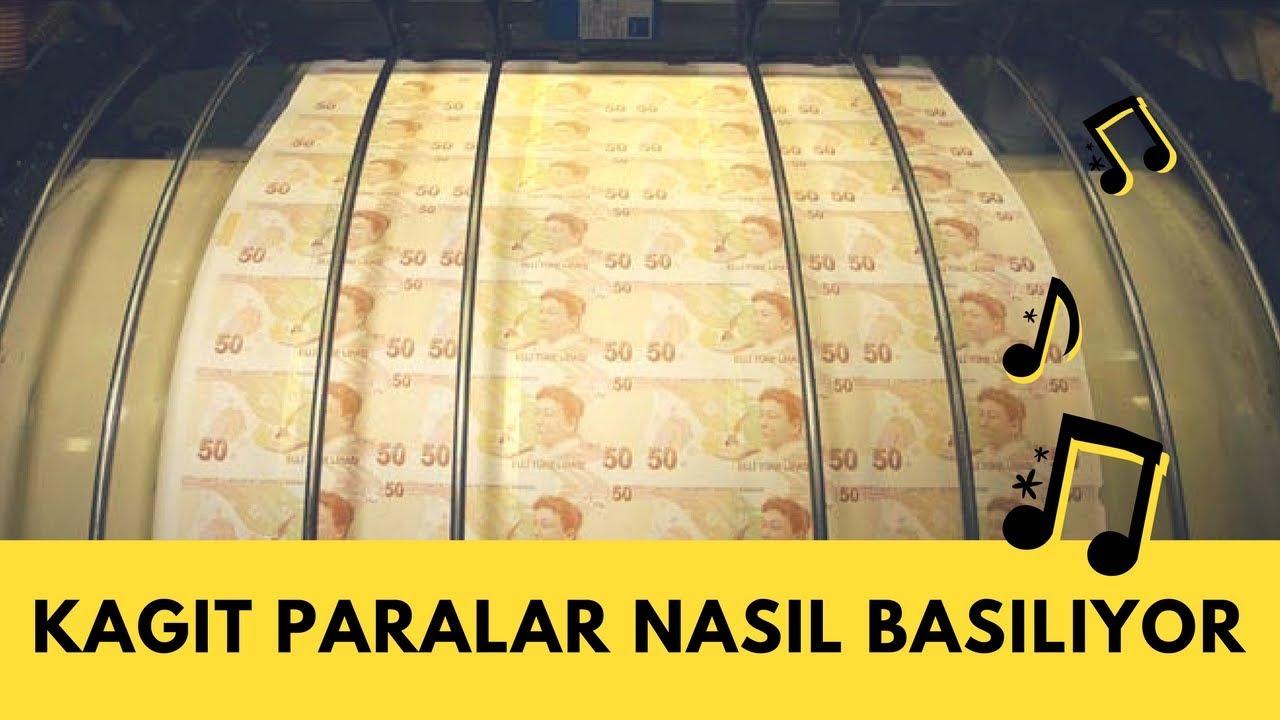 Kağıt para nasıl basılır