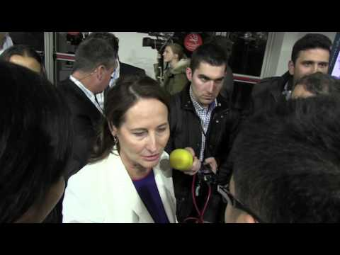 COP21 - Interview with Ségolène Royal, French Minister of Ecology and Sustainable development