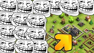 LOW LEVEL TROLLEN! || CLASH OF CLANS || Let's Play CoC [Deutsch/German HD+]