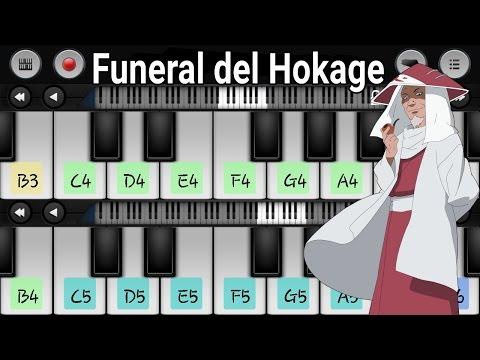 Como tocar el Funeral del Hokage Naruto Piano (Android) /Pedidos del suscriptor #11